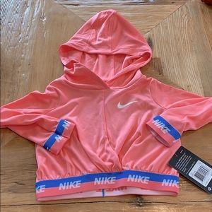 NEW Nike Youth Dri Fit Hoodie Shirt